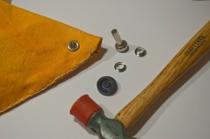 Attaching grommets