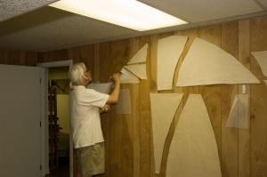 Preparing canvases