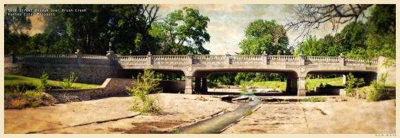 50th Street Bridge over Brush Creek