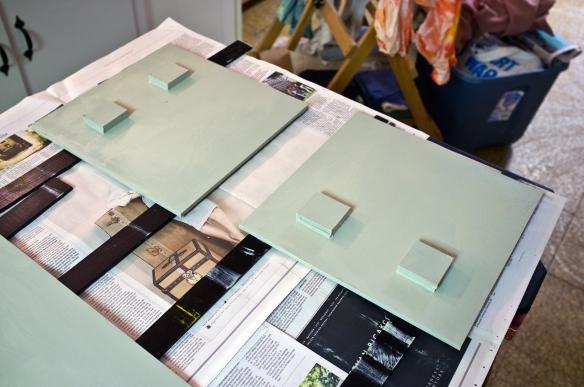 Primed panels